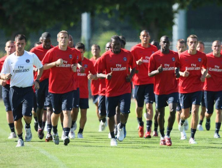 - Reprise de l Entrainement - Paris Saint Germain - PSG - 01.07.2008