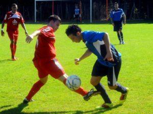 Entrainement de foot : exercice de stop-ball