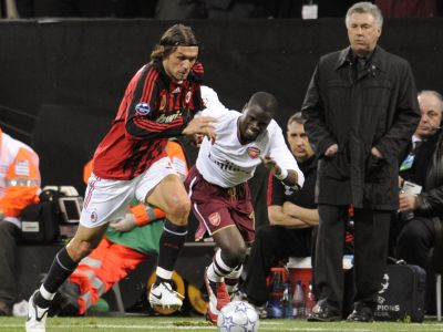 A.C. Milan's defender and captain Paolo
