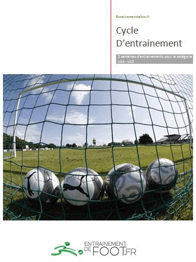 Découvrez 10 séances d'entrainement de foot complètes