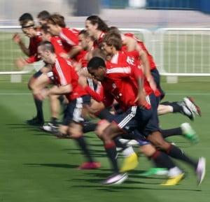 Quels temps de récupération entre les exercices au foot