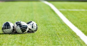 Exercice de foot : préparation physique jeu avec ballon