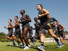 Préparation physique au football
