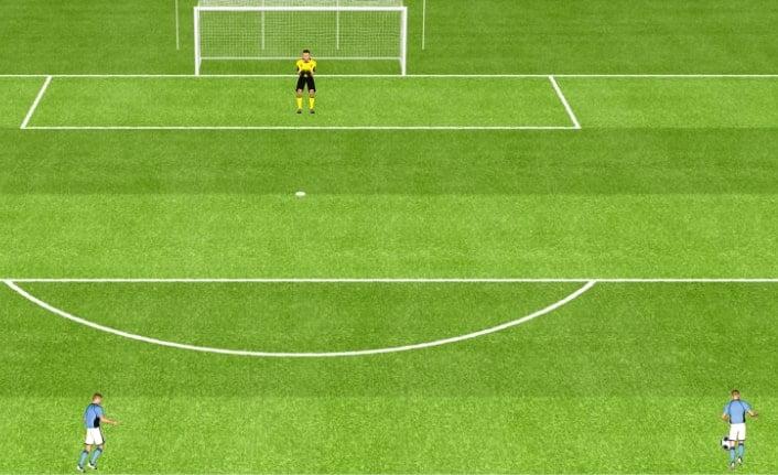 echauffement attaquant foot
