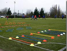 Préparation physique pour jeune au football