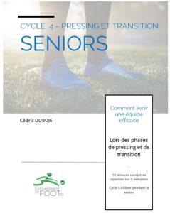 Livre d'entrainement de foot pour les seniors : pressing et de la transition