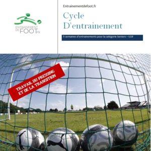 livre d'entrainement de foot pour les seniors