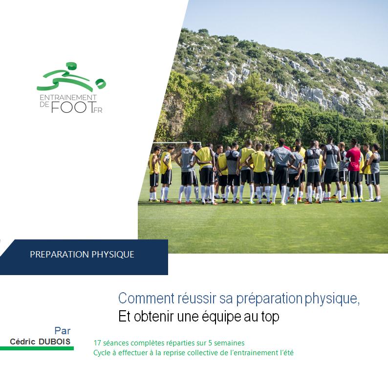 programme entrainement préparation physique au football seniors