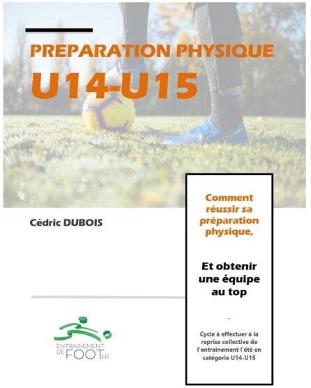 Préparation physique u14-u15 de début de saison