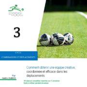 Entrainement de foot pour les seniors combinaisons et déplacements