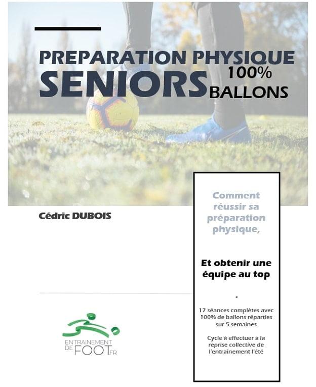 Préparation physique seniors avec 100% des exercices avec ballon