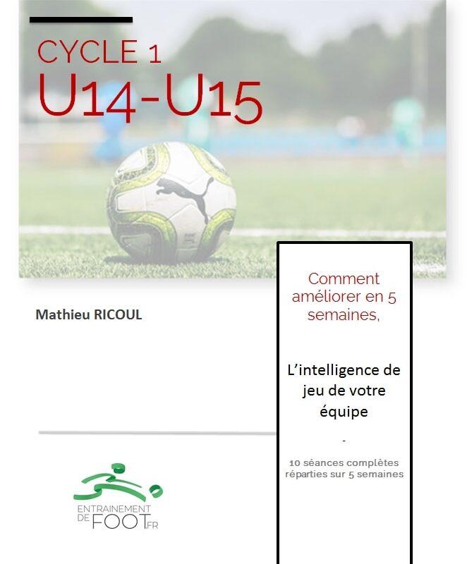 Livre d'entrainement de foot pour les U14 - U15