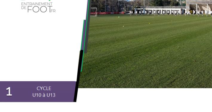 Livre d'entrainement de foot pour l'école de foot : 6 semaines d'entrainement