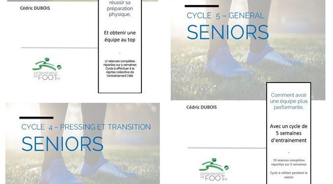 Promotion programme de prépa de début de saison