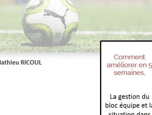 Nouveau cycle d'entrainement pour les U14-U15