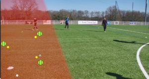 Exercice de foot : comment améliorer ses combinaisons de passes ?