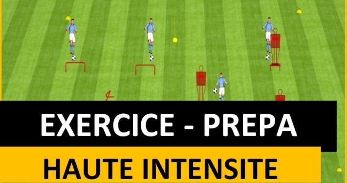 Exercice de prépa physique à haute intensité