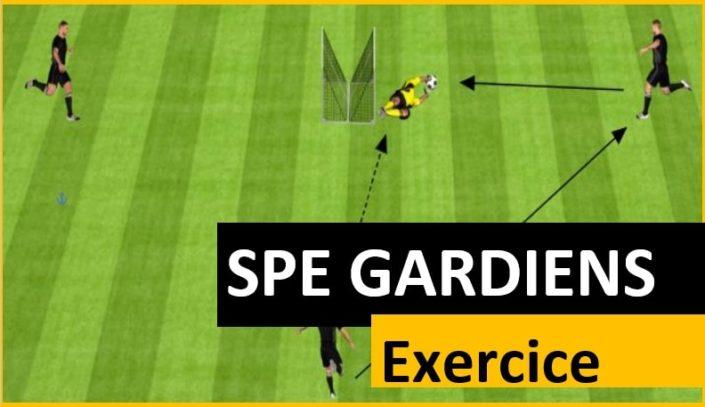 Exercice pour améliorer la vitesse des gardiens