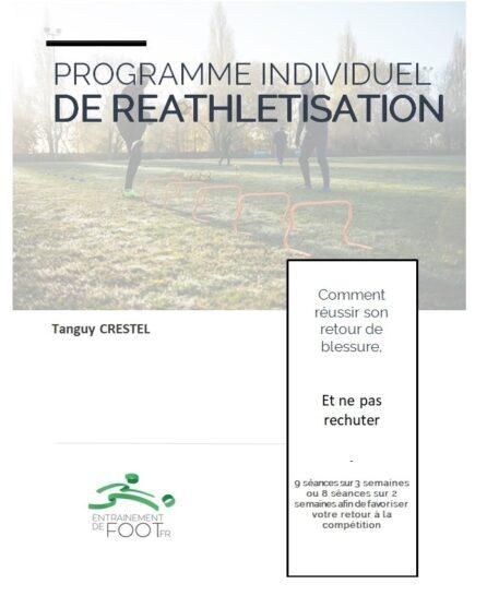 Programme individuel de reprise après blessure