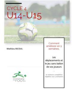 programme d'entrainement u14-u15