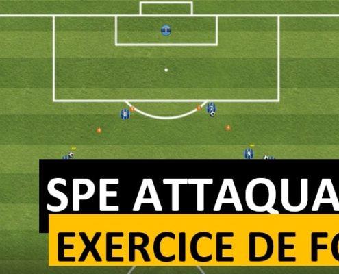exercice spécifique attaquant