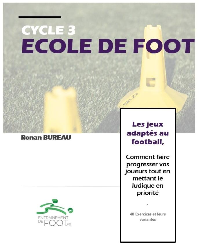 40 jeux adaptés au football pour l'école de foot