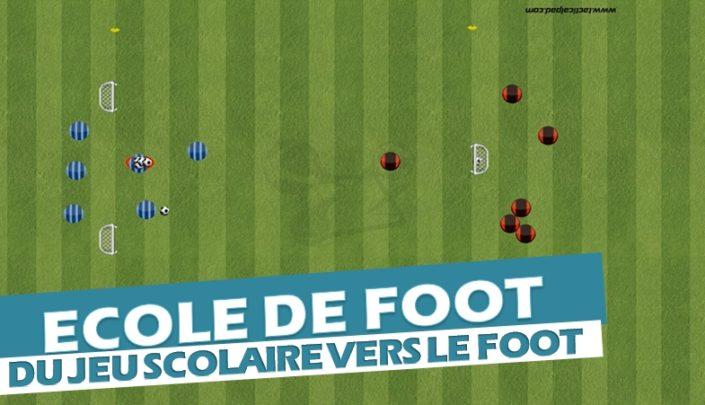 Comment rendre un exercice de foot ludique : plaisir du jeu et progression footballistique
