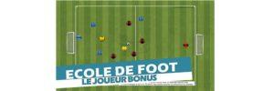 Se rendre accessible et visible au porteur de balle – Exercice de foot