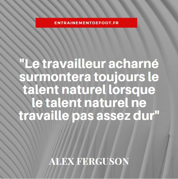 citation d'entraineur de foot - alex ferguson