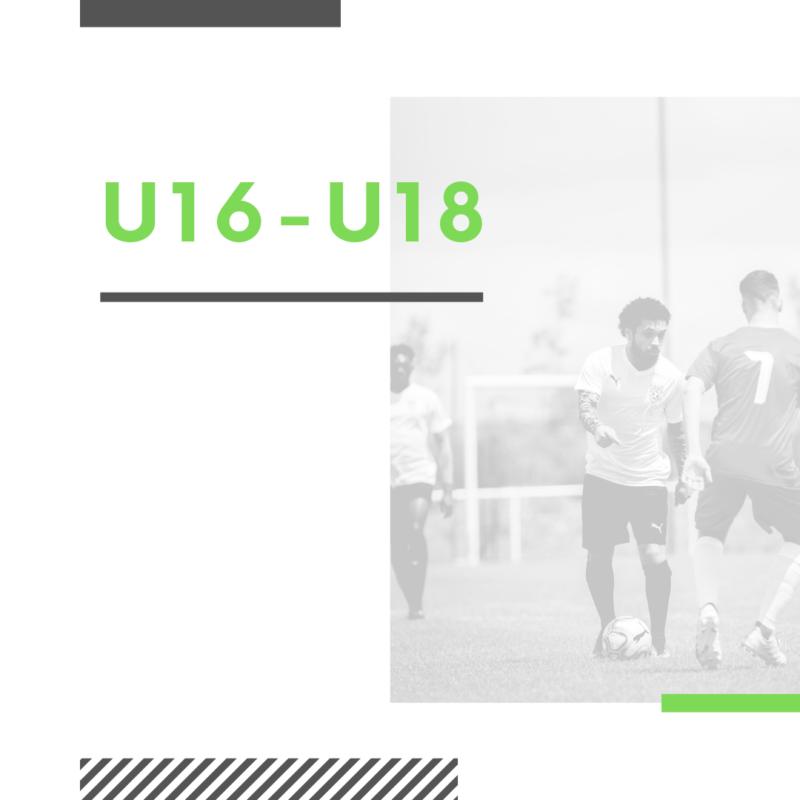 U16 - U18