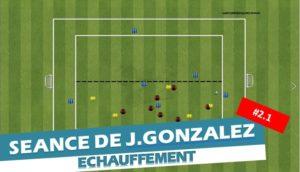 Comment travailler les transitions à la perte de balle – La séance de Jordan Gonzalez #2