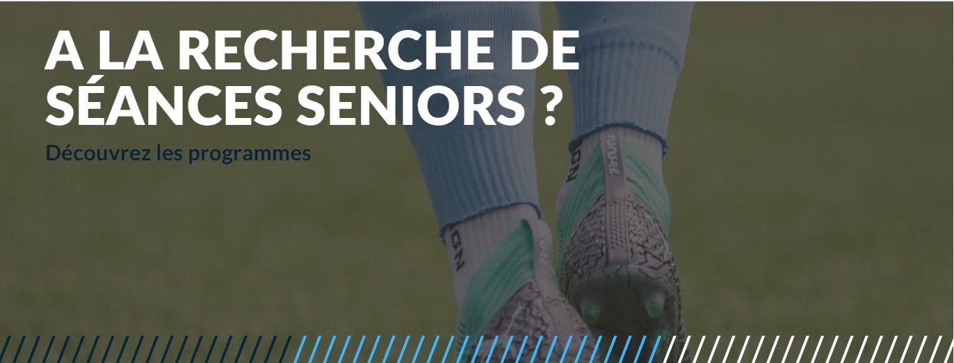 SEANCES entrainement de foot SENIORS