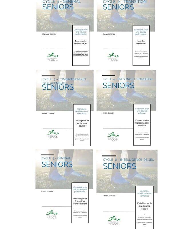 Pack Programme d'entrainement pour les seniors