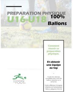 Préparation physique u16-u18 100% ballons