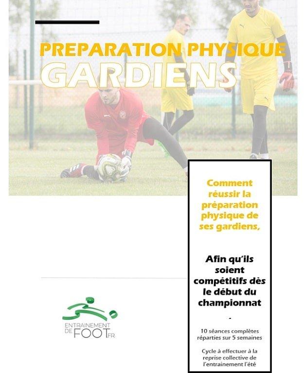 Préparation physique pour les gardiens de but