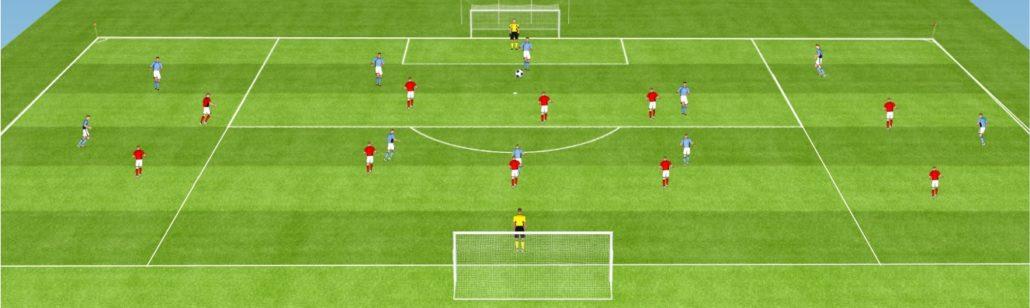 entrainement de foot
