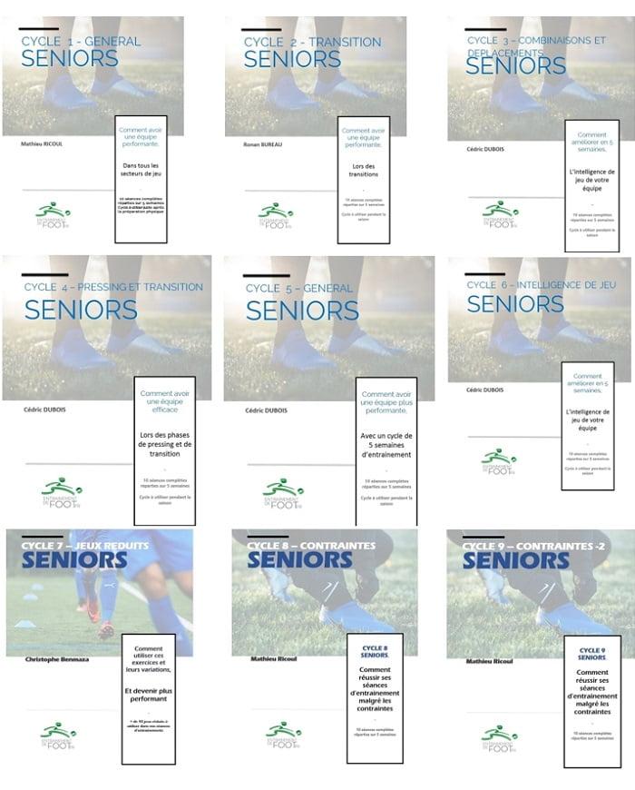 Pack 9 cycles d'entrainement pour les Seniors