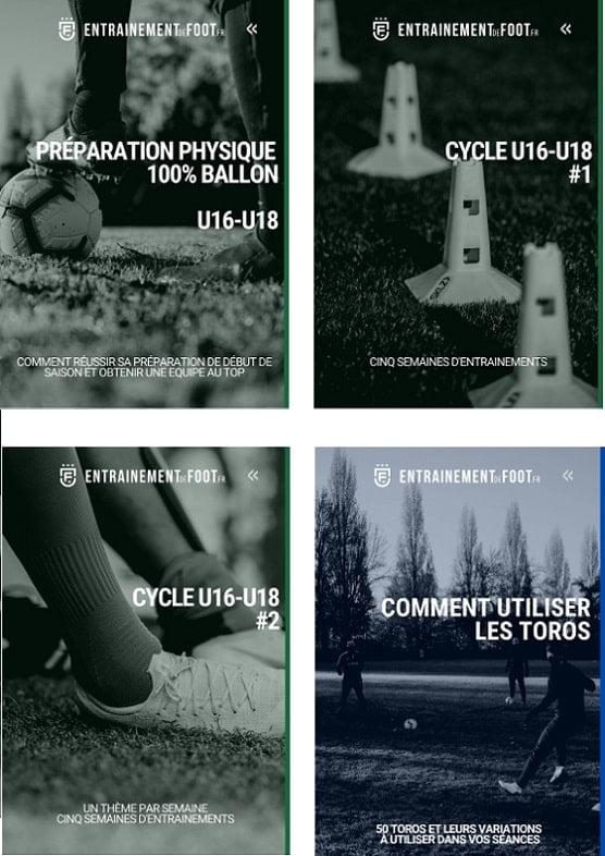Pack d'entrainement u16-u18