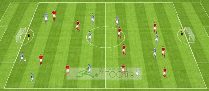 Maintenir la pression sur l'adversaire - la séance de jordan #9