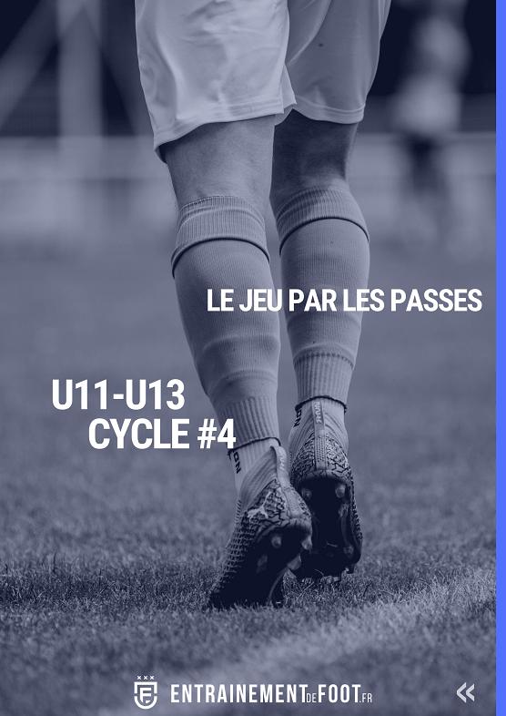 Améliorer le jeu de passes : Cycle 4 école de foot