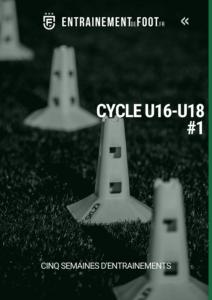 Livre d'entrainement de foot pour les U16 - U18 : cycle de 5 semaines