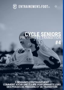 Livre d'entrainement de foot - cycle dédié au travail du pressing et de la transition