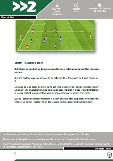 Trêve hivernale au football pour les u16-u18 100% ballons