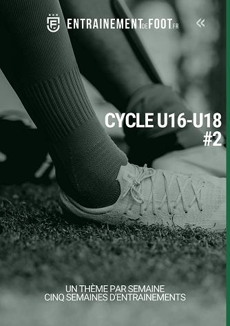 Cycle général d'entrainement de foot pour les U16 - U18 – un thème par semaine