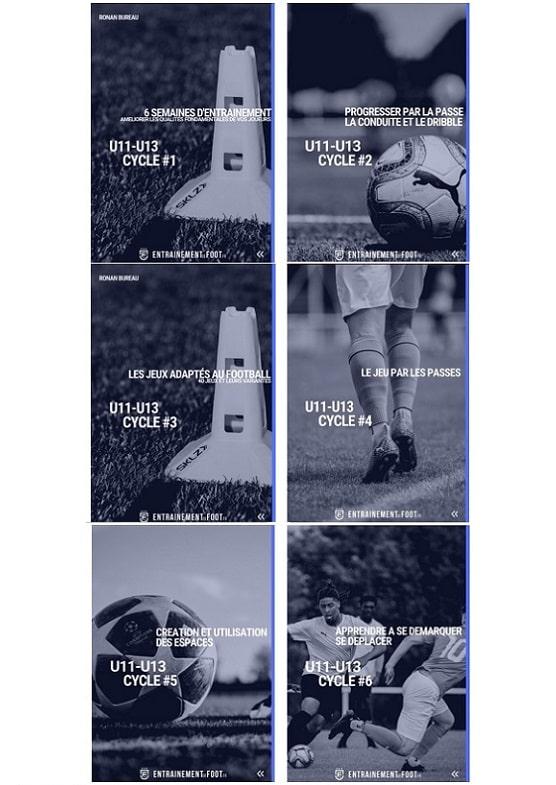 Pack d'entrainement école de foot volume 2