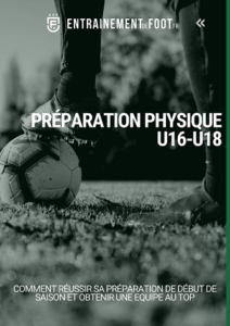 Préparation physique u16-u18 de début de saison