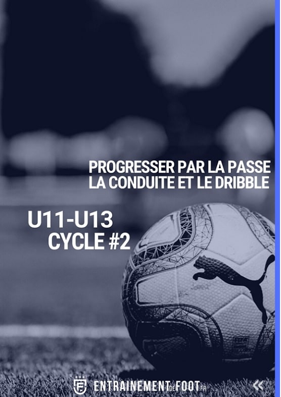 Progresser par la passe la conduite le dribble : Cycle 2 école de foot